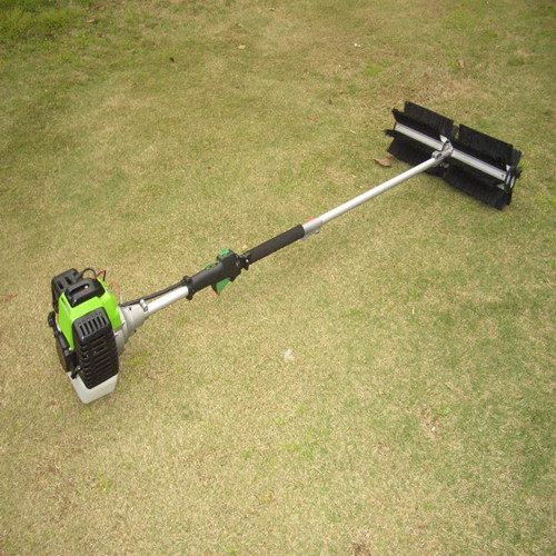 powered broom sweeper