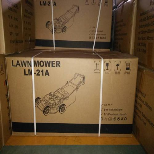 lawnmower packing